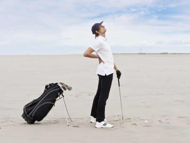 common injuries from playing golf