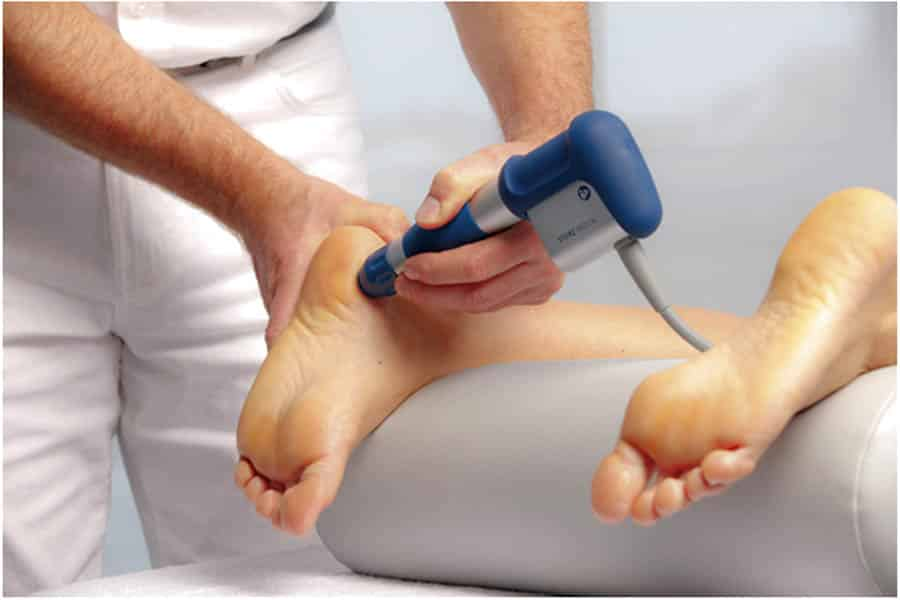 shockwave therapy treats plantar fasciitis