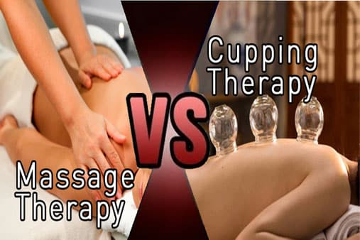 massage vs cupping