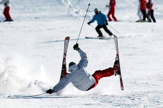 winter sports injury