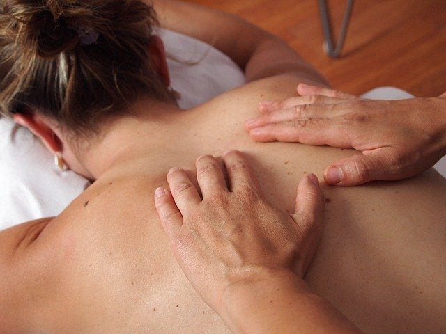 relaxation massage therapy female