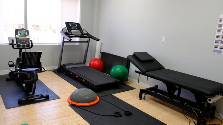 Pro Fusion Rehab Physiotherapy Milton clinic exercise room